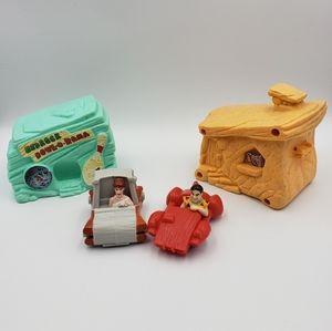 Vintage 1993 Flintstones McDonald's Toys